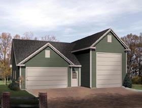 High Bay garages and RV Garage Plans,New England Designs from