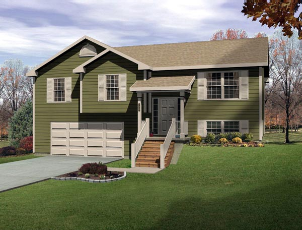 Traditional House Plan 49066 Elevation
