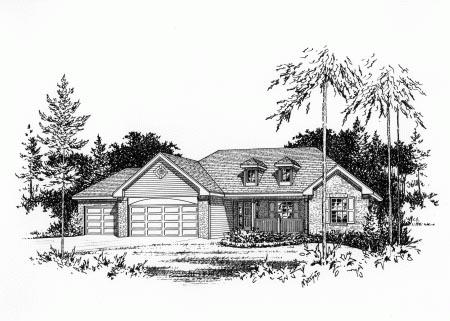 OneStory House Plan 49078