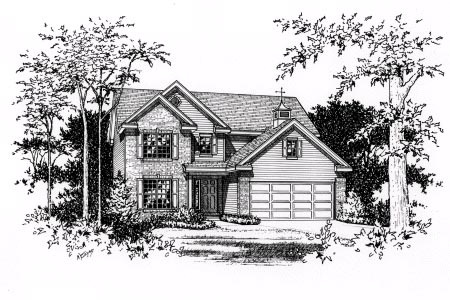 Traditional House Plan 49079 Elevation