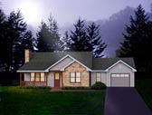 Plan Number 49095 - 1416 Square Feet