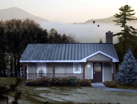 House Plan 49097 Elevation