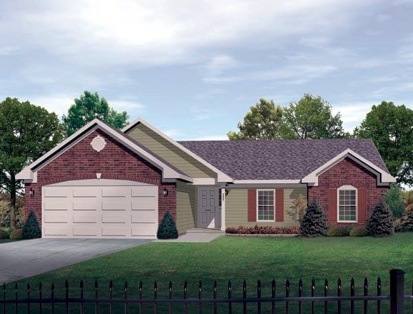 OneStory House Plan 49107