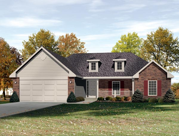 House Plan 49111 Elevation