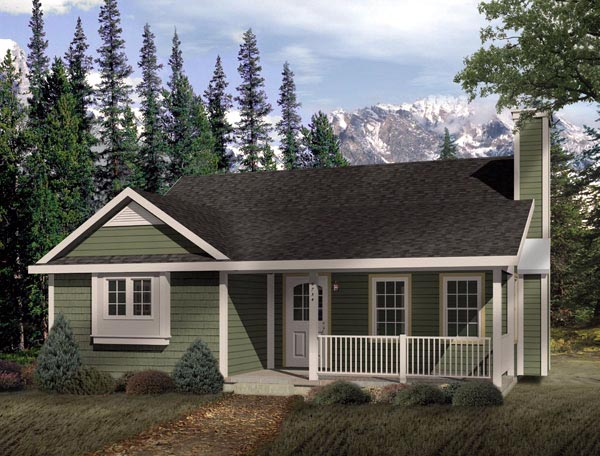 Country House Plan 49120 Elevation