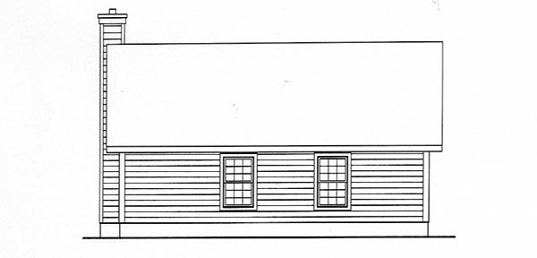 Country House Plan 49120 Rear Elevation