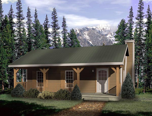 Country House Plan 49148 Elevation
