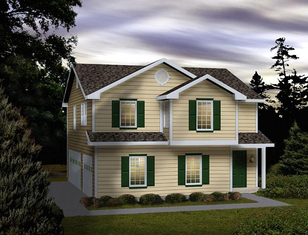 Garage Plan 49154 Elevation