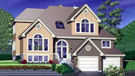 European House Plan 49321