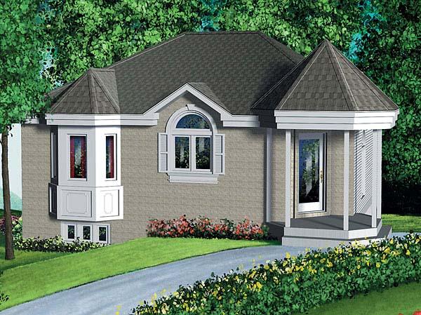Victorian House Plan 49452 Elevation