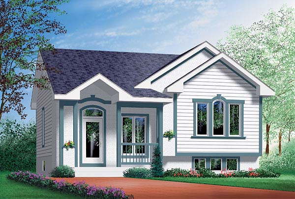 Traditional House Plan 49473 Elevation