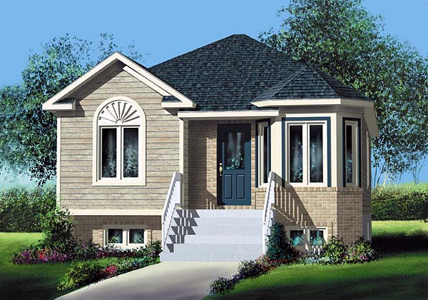 House plan 49554 at for European home designs