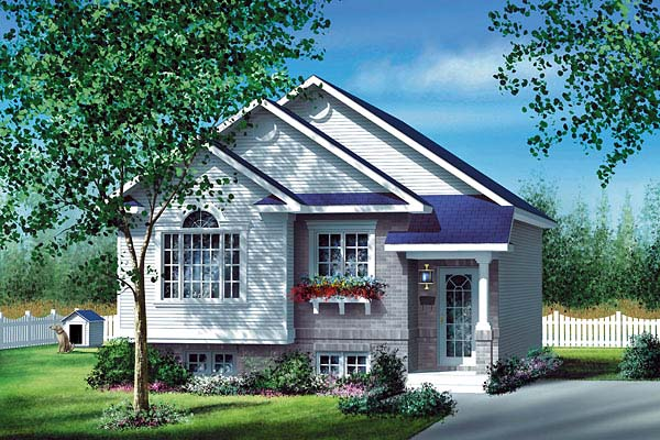 House Plan 49557 Elevation