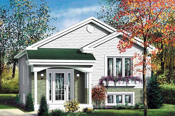 Traditional House Plan 49569 Elevation