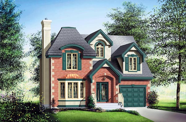 Victorian House Plan 49630 Elevation