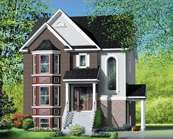 Narrow Multi Family House Plans Unique House Plans