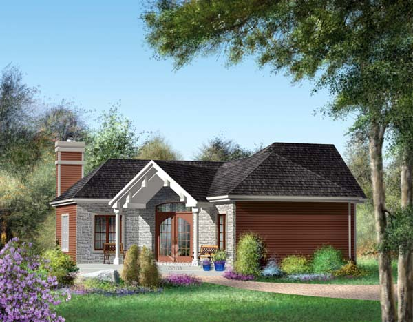 Traditional House Plan 49875 Elevation