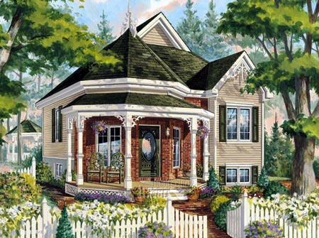 House plan 49907 at Victorian cottage plans