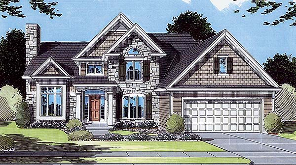 Traditional House Plan 50040