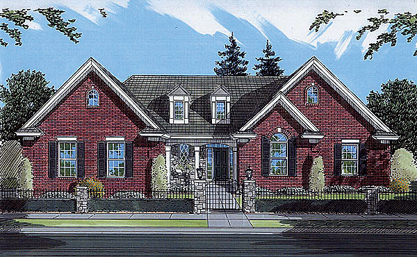 Traditional House Plan 50056