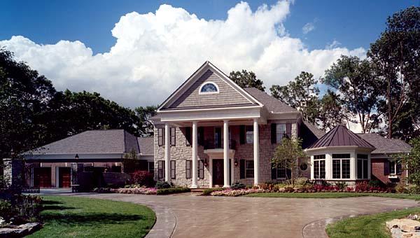 House Plan 50062 Elevation