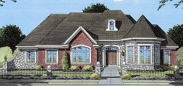 House Plan 50063 Elevation
