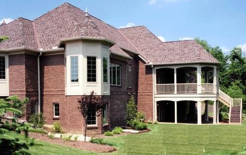 House Plan 50063 Rear Elevation
