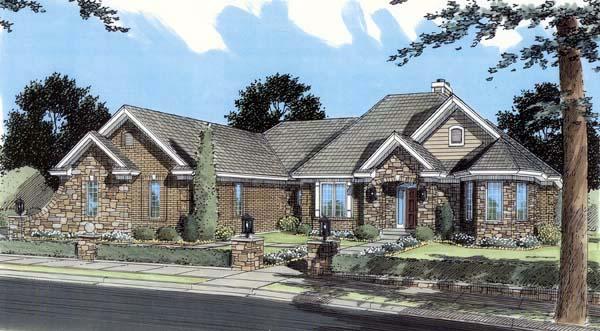 Ranch House Plan 50112