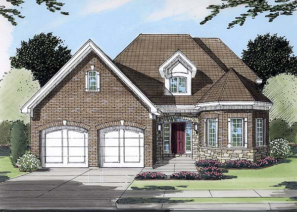 Traditional House Plan 50115 Elevation