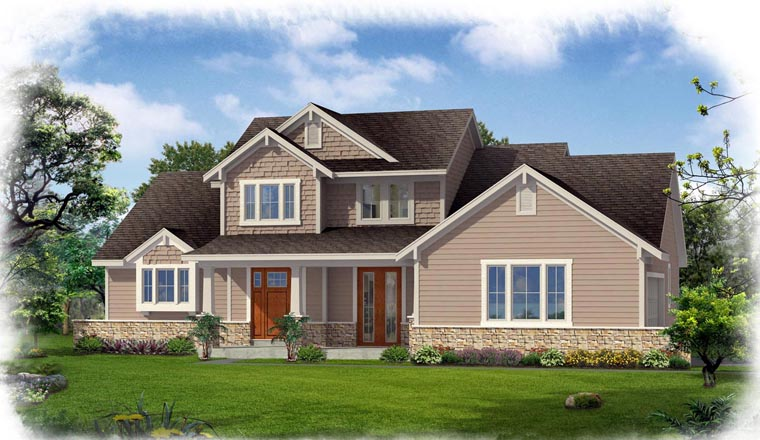 Traditional House Plan 50189 Elevation