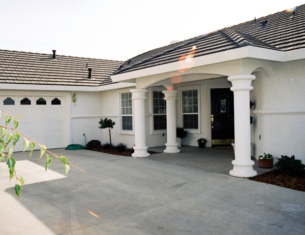 Mediterranean House Plan 50202 with 3 Beds, 2 Baths, 2 Car Garage Picture 1