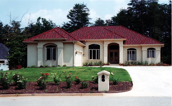 Mediterranean House Plan 50219 with 3 Beds, 2 Baths, 2 Car Garage Elevation