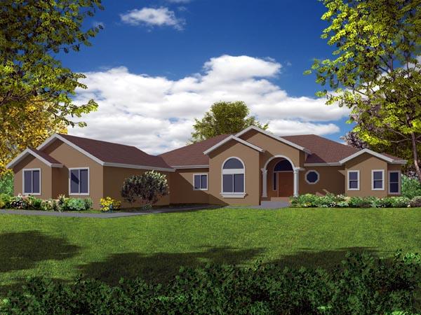 Mediterranean House Plan 50232 Elevation