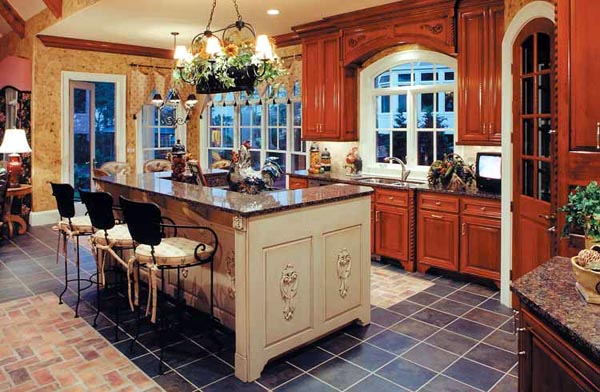 European Traditional House Plan 50248