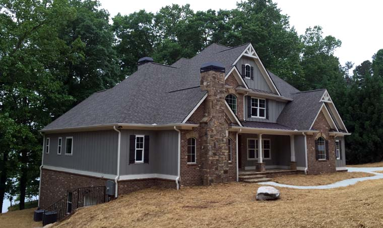 Craftsman French Country Traditional House Plan 50263