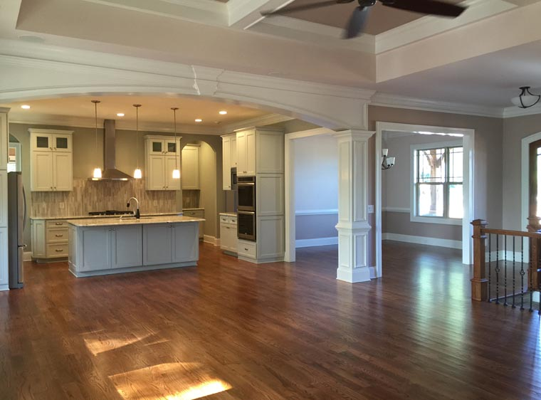 Craftsman, Ranch, Traditional House Plan 50264 with 4 Beds, 3 Baths, 3 Car Garage Picture 2
