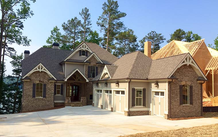 Country, Craftsman, Southern, Traditional House Plan 50270 with 4 Beds, 4 Baths, 3 Car Garage Elevation