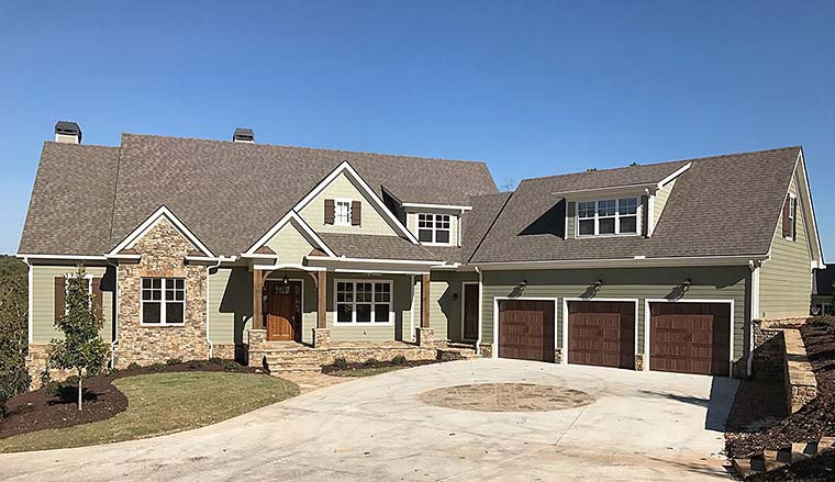 Craftsman Traditional House Plan 50275 Elevation