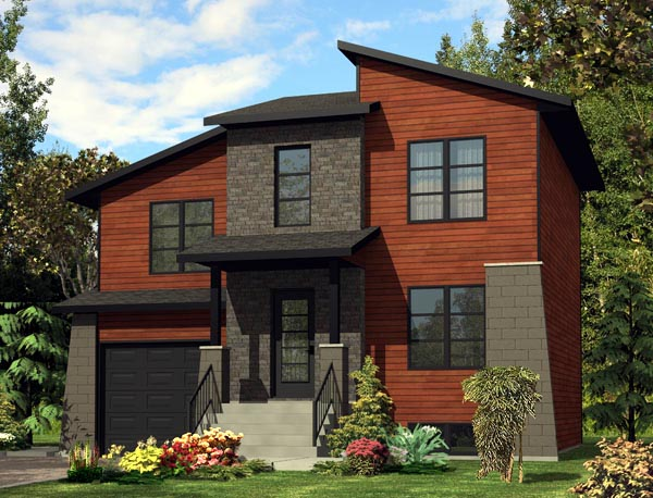 Contemporary House Plan 50304 Elevation