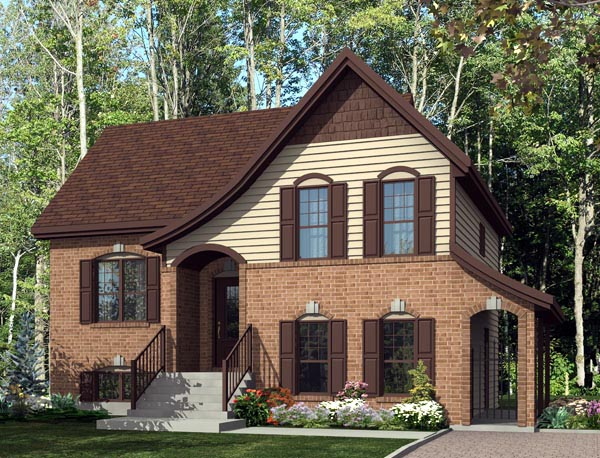 House Plan 50308 Elevation