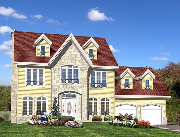 House Plan 50326 Elevation