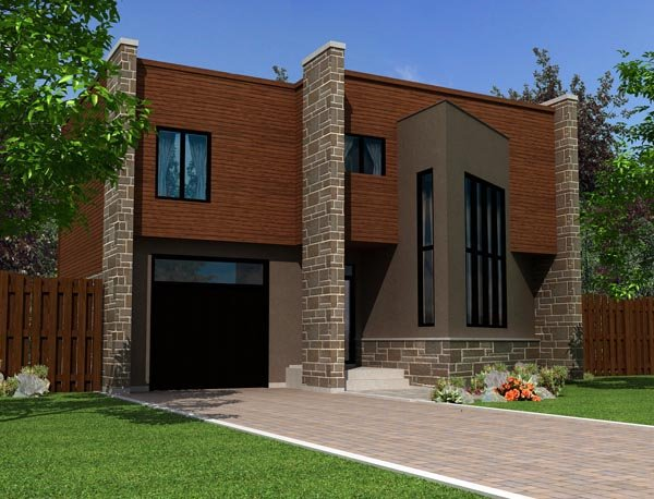 Contemporary House Plan 50348 Elevation