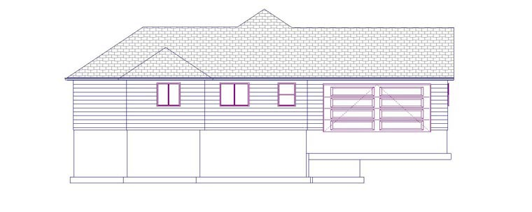 House Plan 50461 with 6 Beds, 4 Baths, 2 Car Garage Picture 1