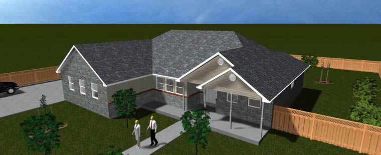 House Plan 50461 with 6 Beds, 4 Baths, 2 Car Garage Picture 18