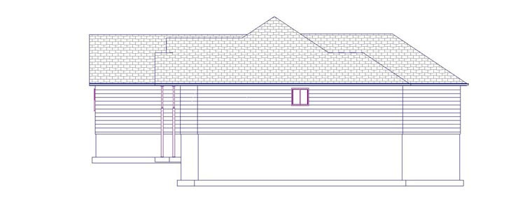 House Plan 50461 with 6 Beds, 4 Baths, 2 Car Garage Picture 2