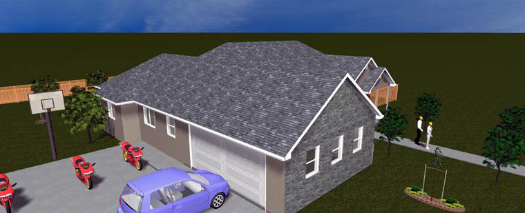 House Plan 50461 with 6 Beds, 4 Baths, 2 Car Garage Picture 20