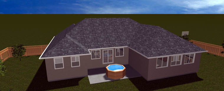 House Plan 50461 with 6 Beds, 4 Baths, 2 Car Garage Picture 23