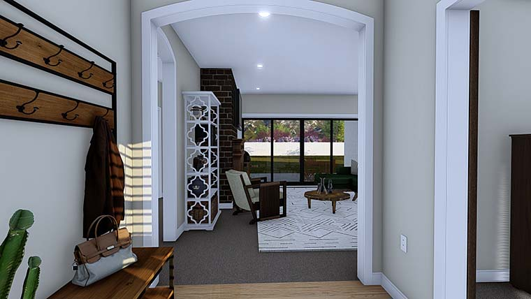 Ranch, Traditional House Plan 50529 with 4 Beds, 3 Baths, 2 Car Garage Picture 5