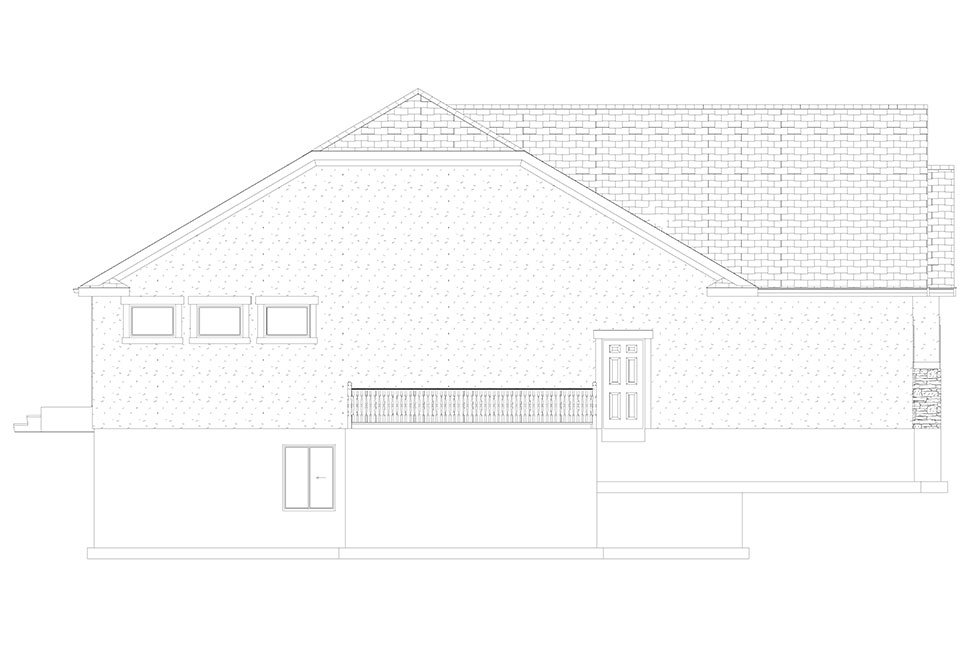 Traditional House Plan 50530 with 6 Beds, 4 Baths, 3 Car Garage Picture 26
