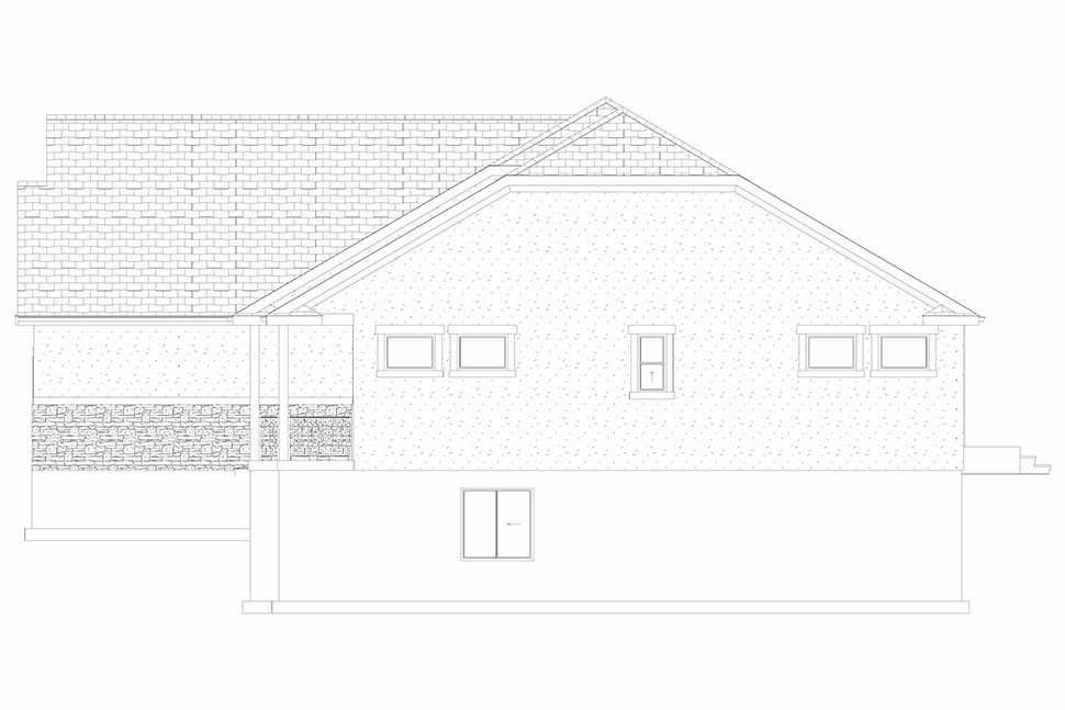 Traditional House Plan 50530 with 6 Beds, 4 Baths, 3 Car Garage Picture 27